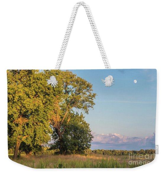 Moon Rise Weekender Tote Bag