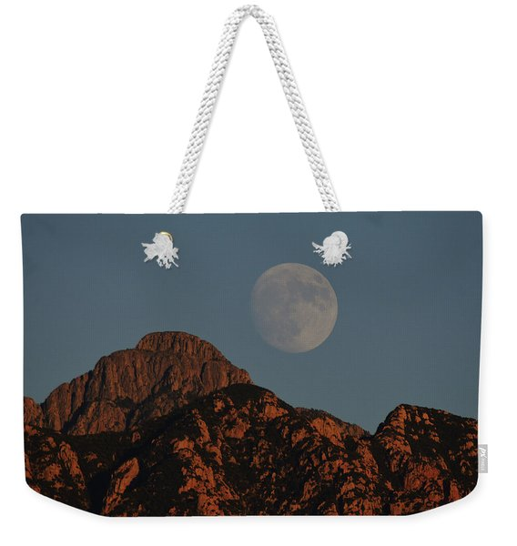 Moon Rise Over Mount Wrightson  Weekender Tote Bag