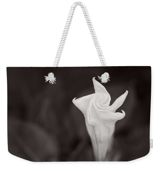 Moonflower Weekender Tote Bag