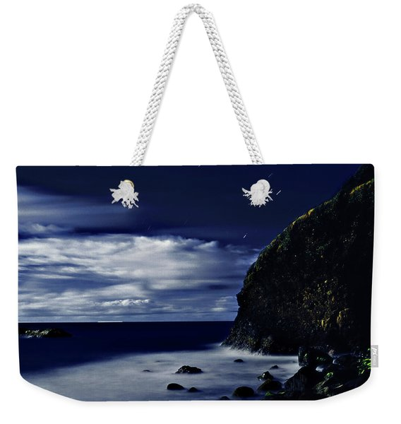 Moonlight At Argyle Weekender Tote Bag