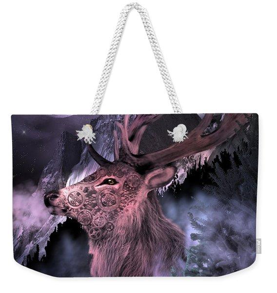 Moonlight Buck Weekender Tote Bag
