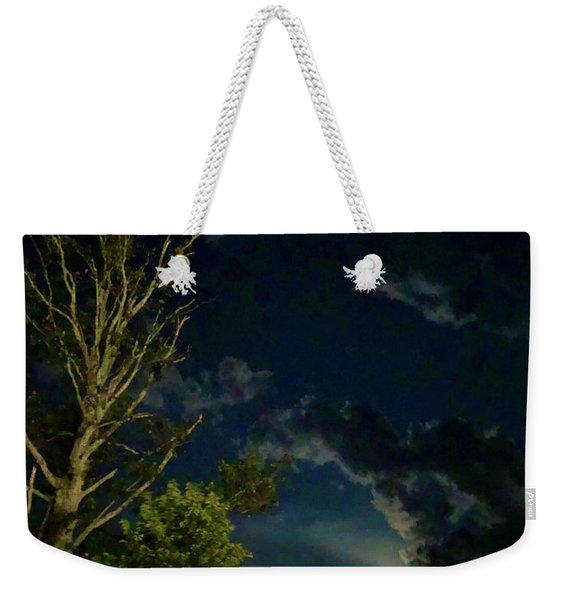 Moonlight In The Trees Weekender Tote Bag
