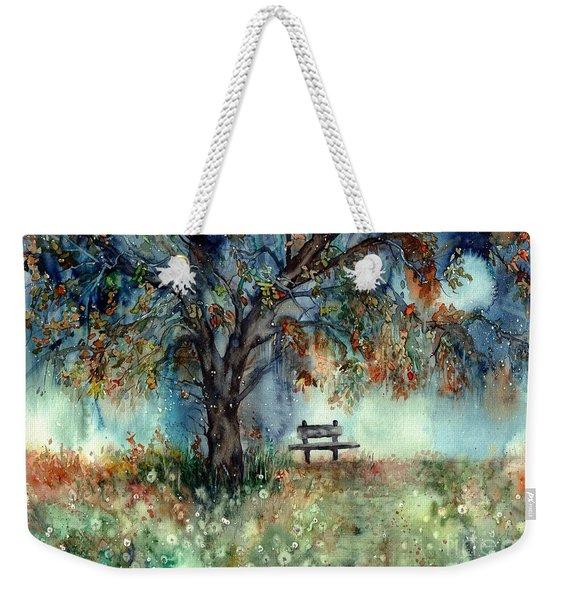 Moonlight Shadows Weekender Tote Bag