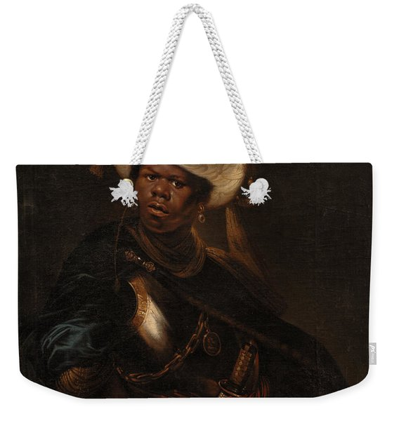 Moor Wearing A Turban And Armour Weekender Tote Bag