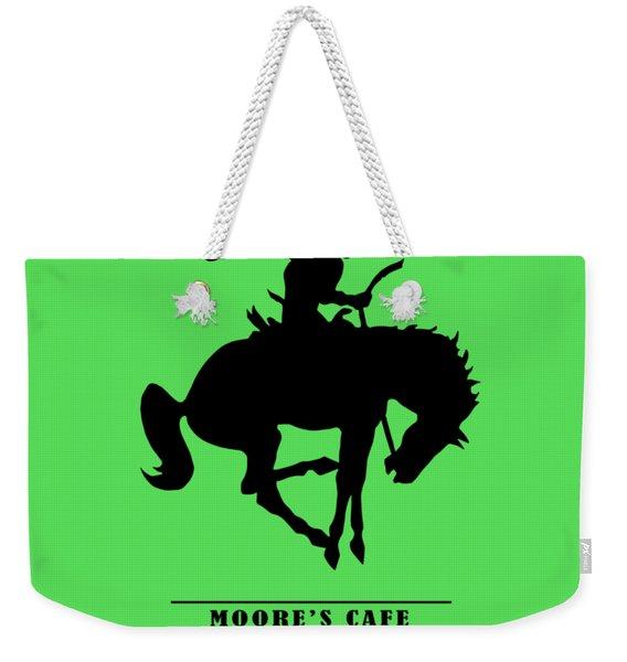 Moores Cafe Wyoming 1946 Weekender Tote Bag