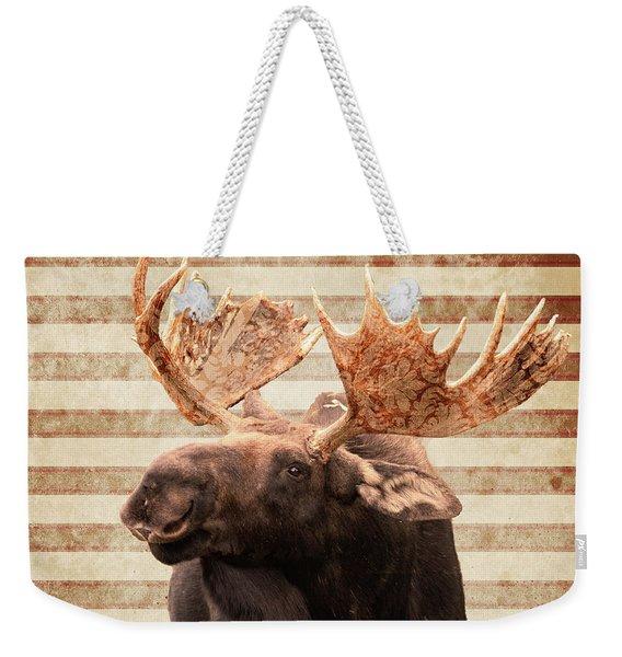 Moosely Weekender Tote Bag