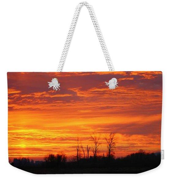More Sunrise Reflections Weekender Tote Bag