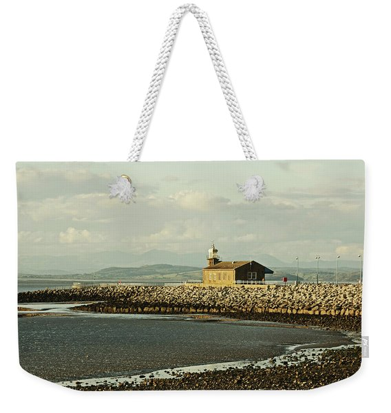 Morecambe. The Stone Jetty. Weekender Tote Bag