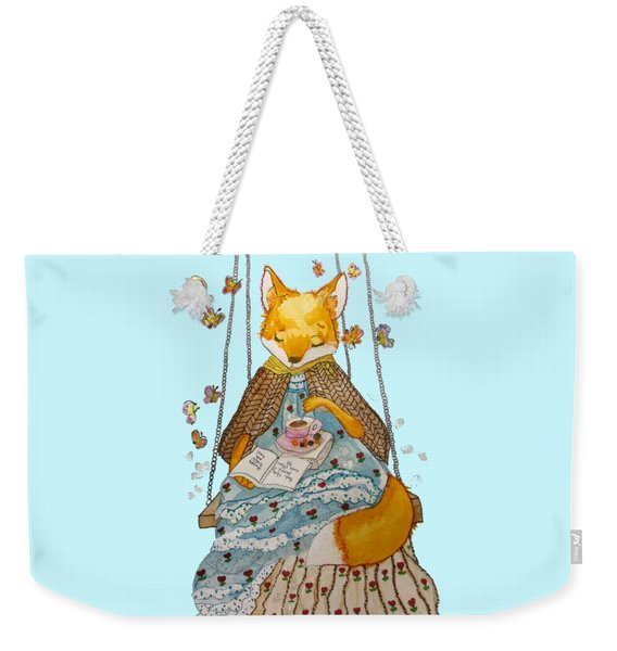 Morgan's Fox Weekender Tote Bag