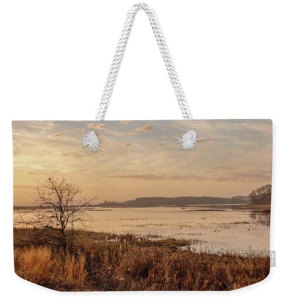 Morning At Boombay Hook Weekender Tote Bag