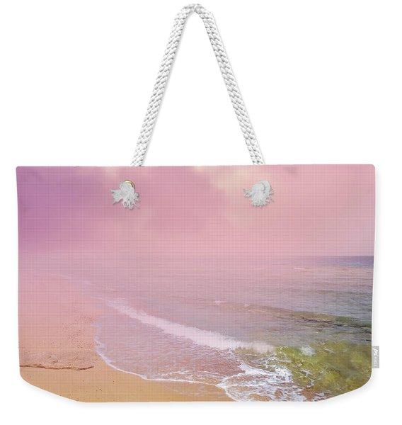 Morning Hour By The Seashore In Dreamland Weekender Tote Bag