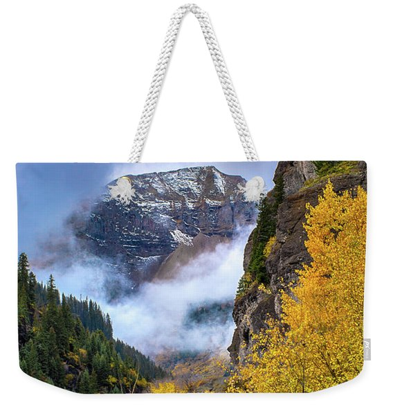 Morning In The San Juan Mountains Weekender Tote Bag