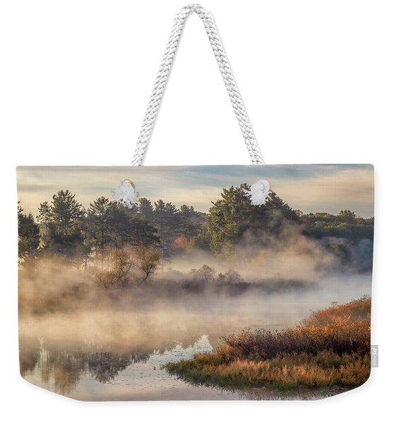 Morning Mist On The Sudbury River Weekender Tote Bag