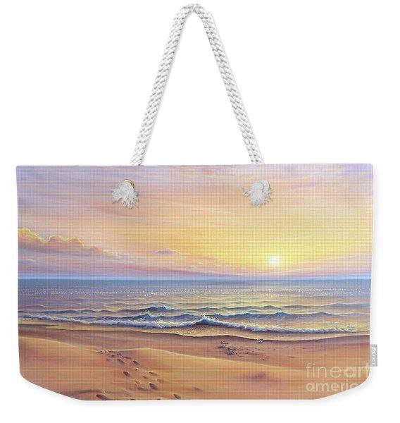 Morning Sea Breeze Weekender Tote Bag