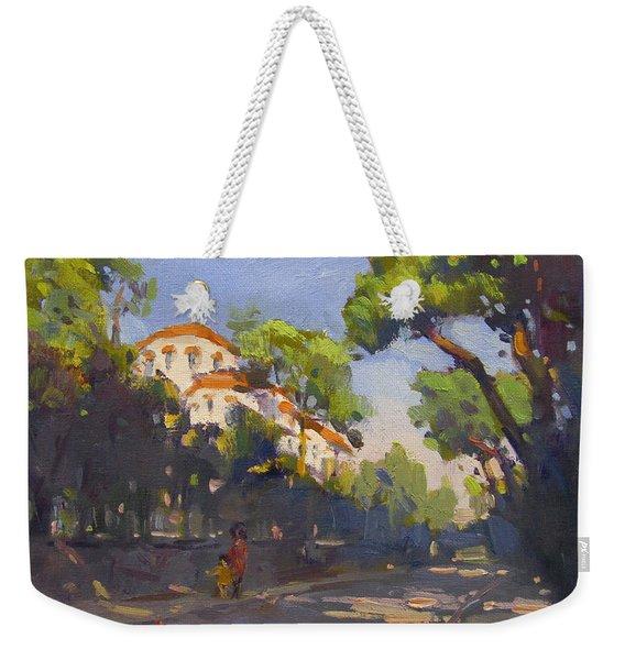 Morning Sunlight Athens Weekender Tote Bag