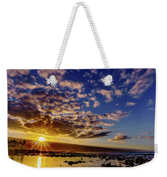 Morning Sunrise Weekender Tote Bag