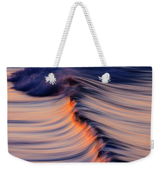 Morning Wave Weekender Tote Bag