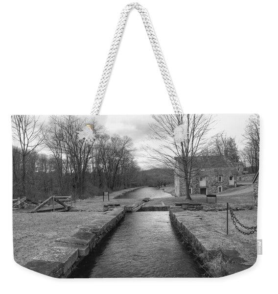 Morris Canal And Lock - Waterloo Village Weekender Tote Bag
