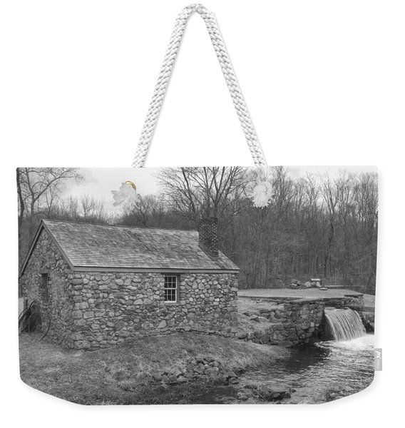 Morris Canal Lock House - Waterloo Village Weekender Tote Bag