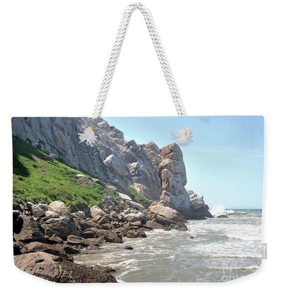 Morro Rock And Ocean Weekender Tote Bag