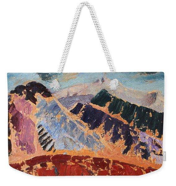Mosaic Canigou Weekender Tote Bag