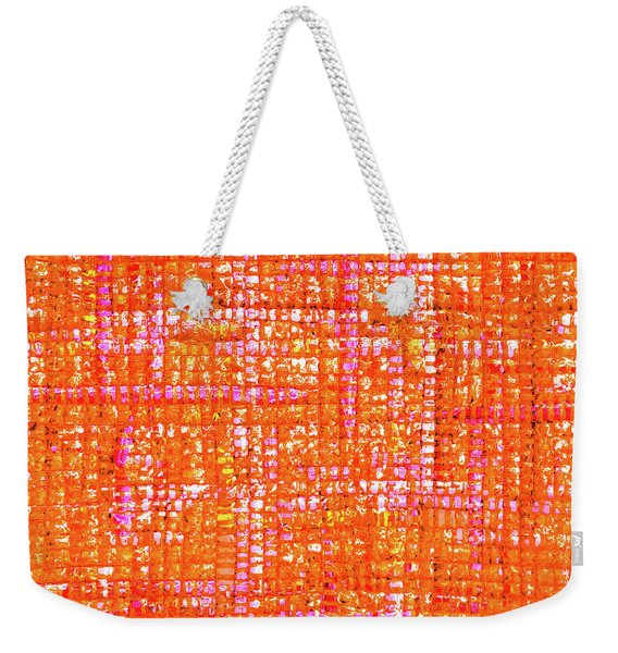 Mosaic Tapestry 3 Weekender Tote Bag