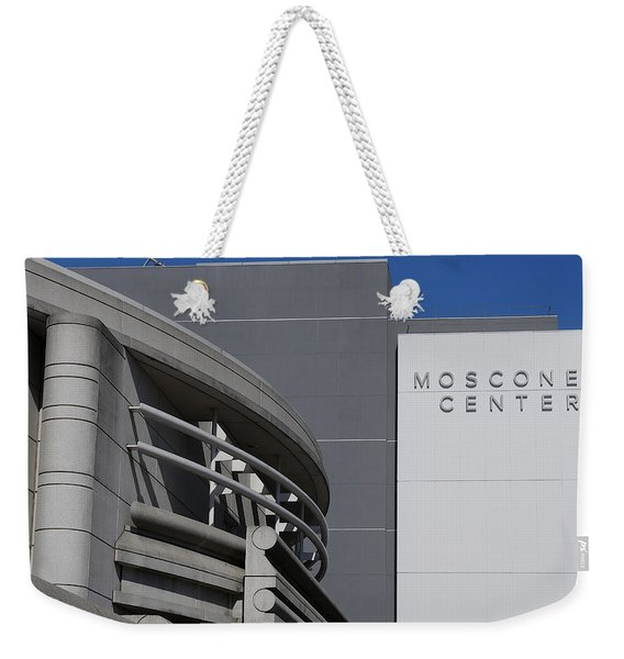 Moscone Center Weekender Tote Bag