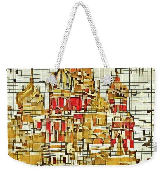 Moscow Weekender Tote Bag