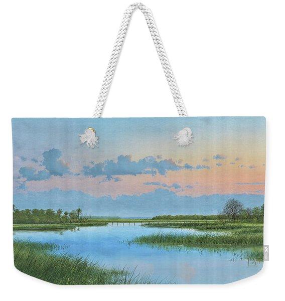 Mosquito Lagoon Weekender Tote Bag