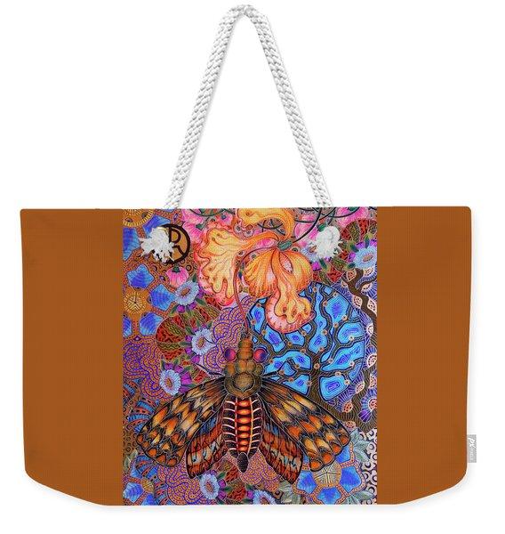Moth Weekender Tote Bag