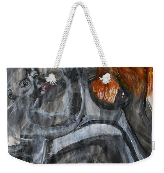 Mother Earth Feeds The World Weekender Tote Bag
