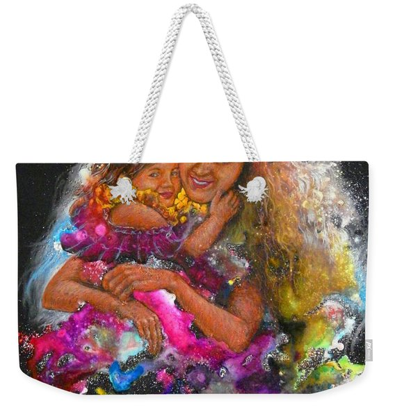 Mother Love Is Forever Weekender Tote Bag
