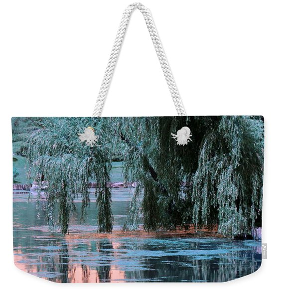 Mother Willow Infrared Weekender Tote Bag