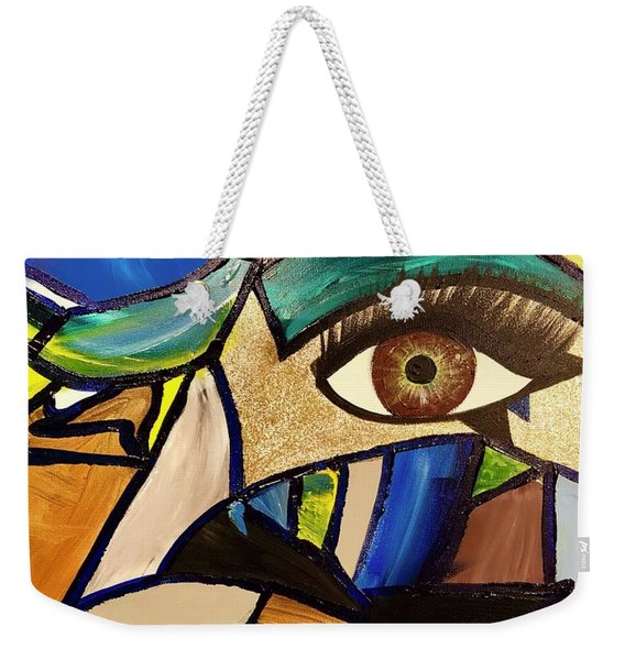 Motley Eye 5 Weekender Tote Bag