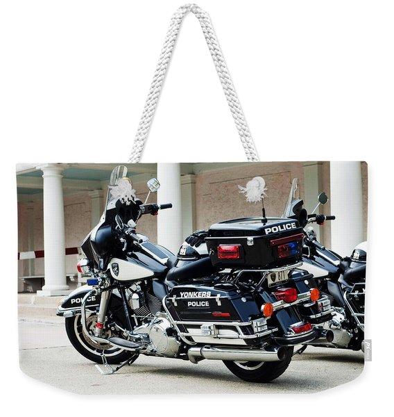 Motorcycle Cruiser Weekender Tote Bag