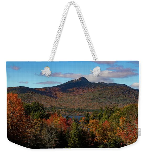 Weekender Tote Bag featuring the photograph Mount Chocorua New Hampshire by Jeff Folger