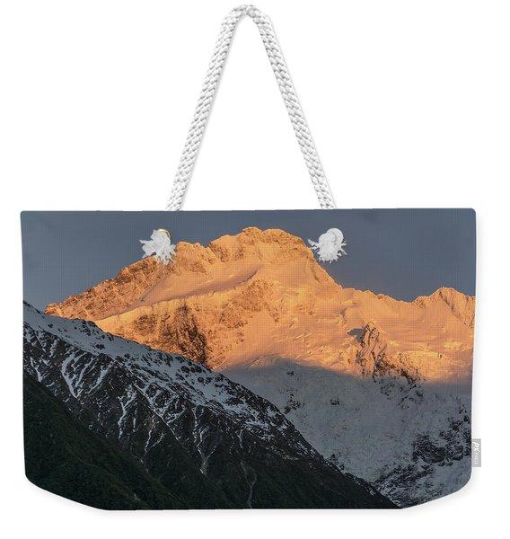 Mount Sefton Sunrise Weekender Tote Bag