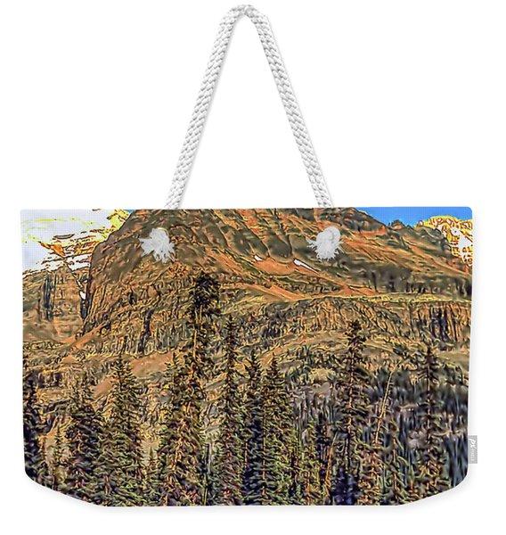 Mount Yukeness Weekender Tote Bag