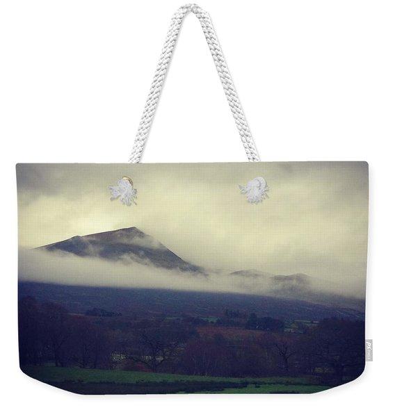 Mountain Cloud Weekender Tote Bag
