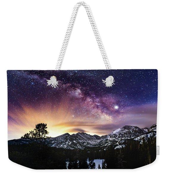 Mountain Dreams Weekender Tote Bag