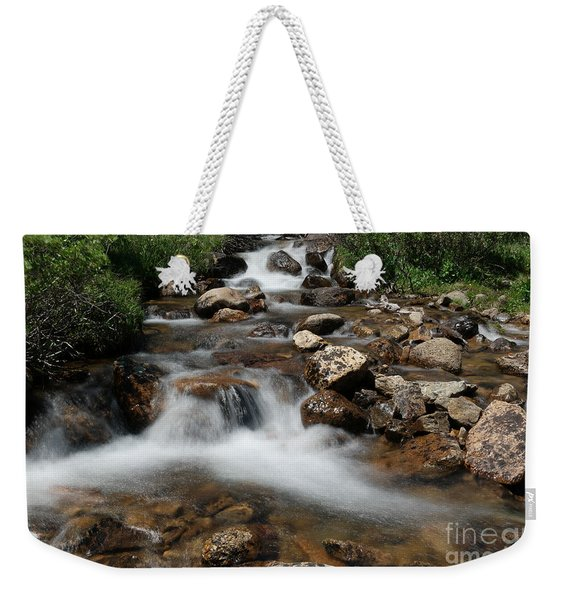 Mountain Fed Stream Weekender Tote Bag