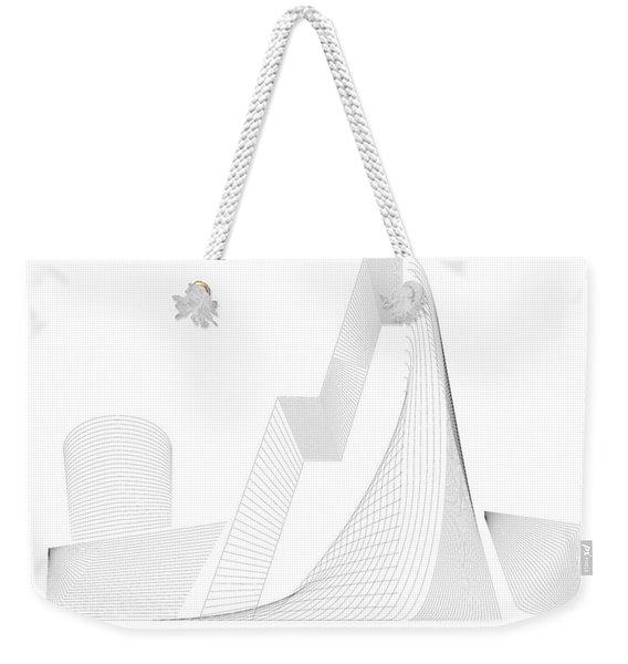 Mountain Gate Weekender Tote Bag