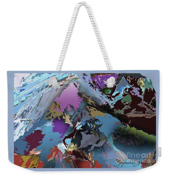 Mountain Majesty Weekender Tote Bag