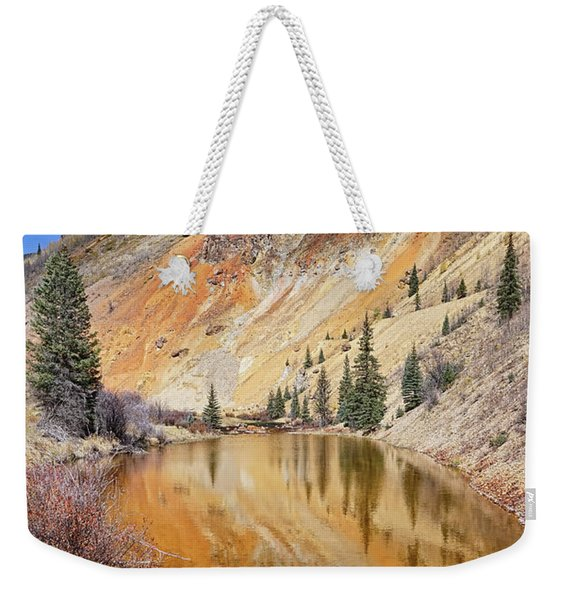 Mountain Reflections Weekender Tote Bag