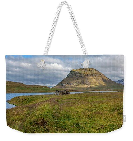 Mountain Top Of Iceland Weekender Tote Bag