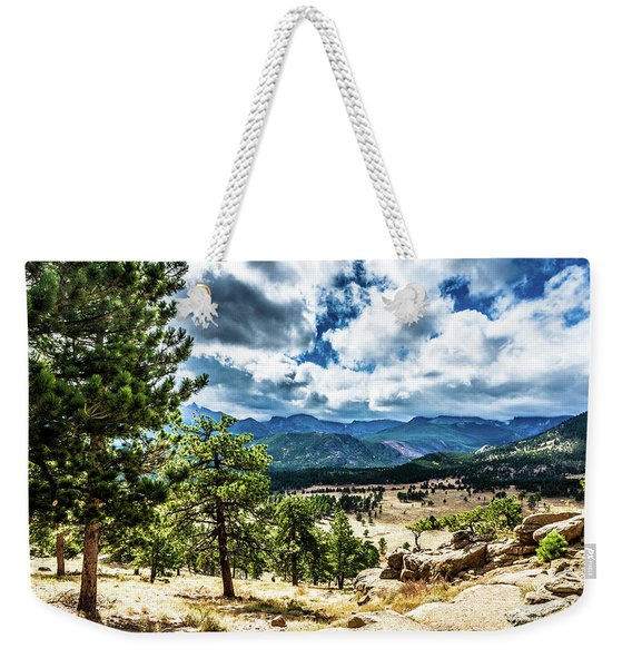 Mountains Across The Way Weekender Tote Bag