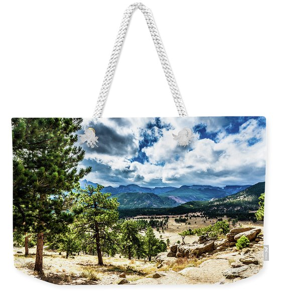 Mountains Across The Way Weekender Tote Bag