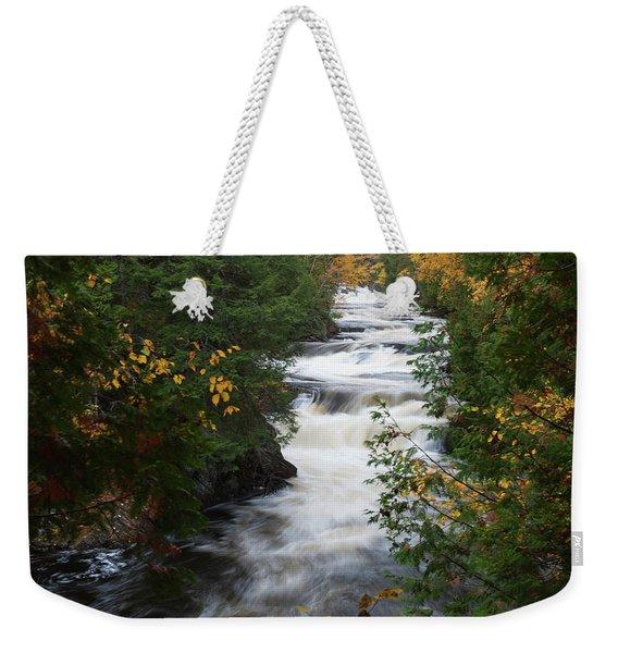 Moxie Stream Weekender Tote Bag