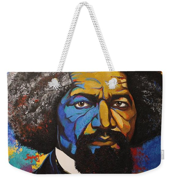 Mr. Douglas Weekender Tote Bag
