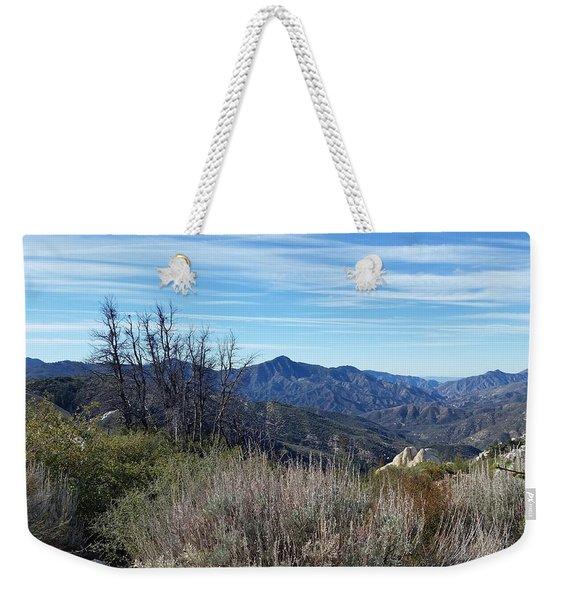 Mt. Wilson - View 1 Weekender Tote Bag